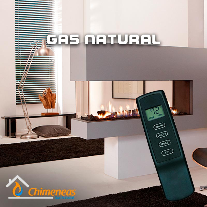 Chimenea-Gas-Natural-Control-con-temporizador